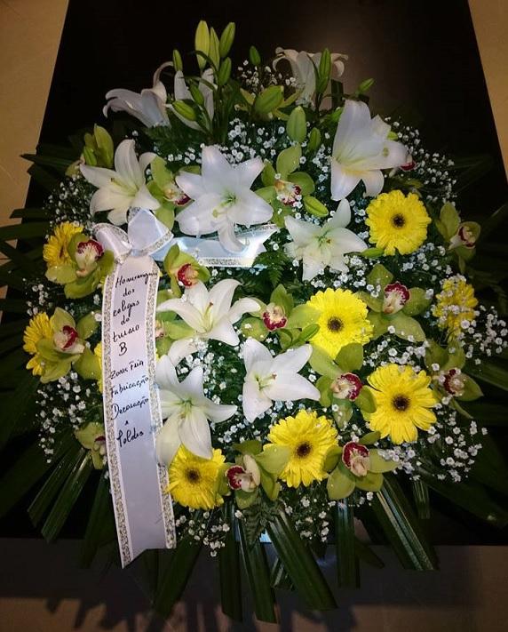 Coroa de Flores - Santos Barosa
