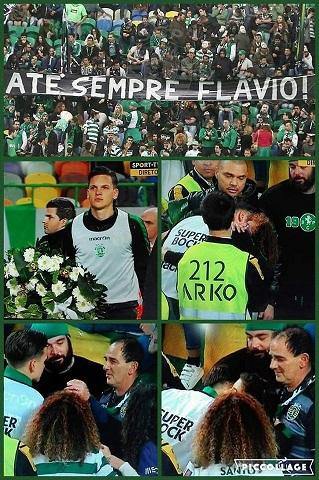Homenagem no Estádio José de Alvalade