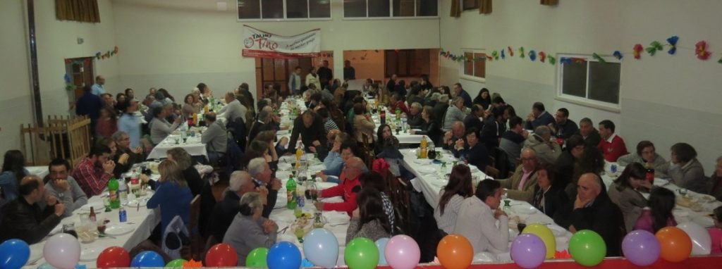 Jantar convívio (Foto: Carla Oliveira)
