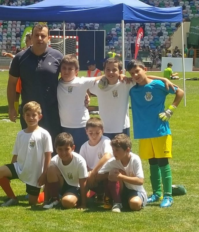 Equipa Sub10 no Leiria Cup 2016