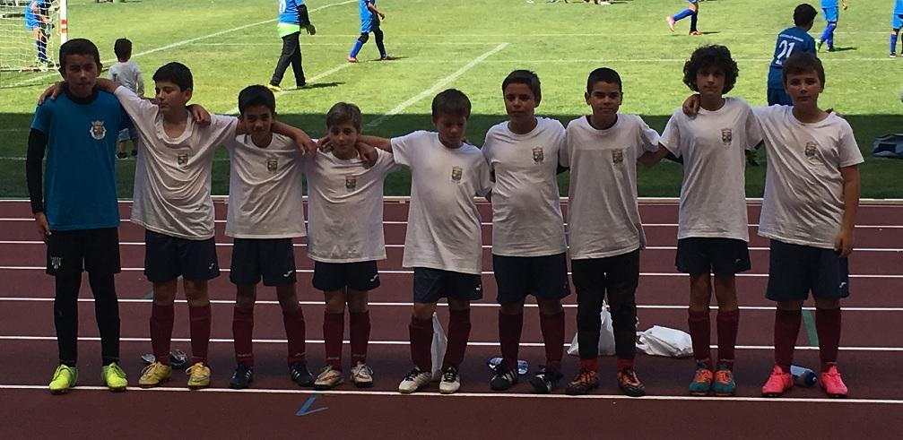 Equipa Sub12 no Leiria Cup 2016